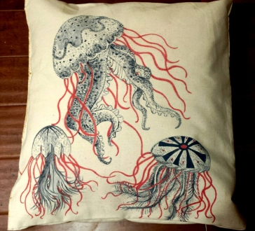 Jelly Fish Pillow